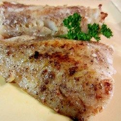 Swai fish is baked in a creamy honey-mustard sauce for an easy and economical weeknight main dish.