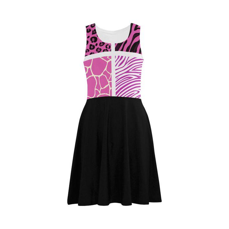 "Designers ""Zebra dress"" : New collection 2017 Atalanta Sundress (Model D04)."