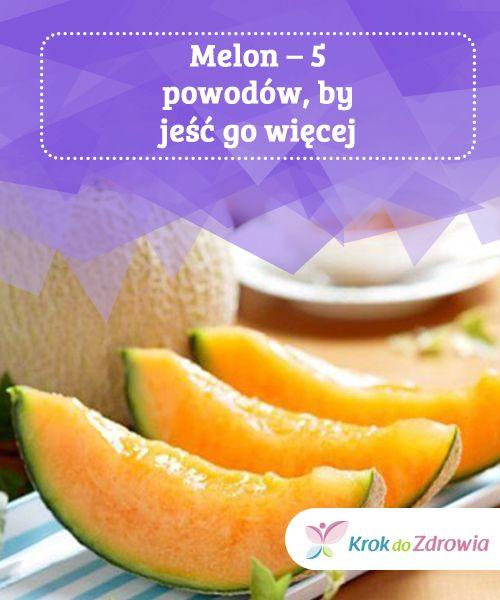 Melon – 5 #powodów, by jeść go więcej  #Dzięki wysokiej zawartości wody melon posiada silne #właściwości moczopędne, które #wspomagają usuwanie toksyn z #organizmu. Ponadto owoc ten #jest cennym #źródłem witamin i składników mineralnych.