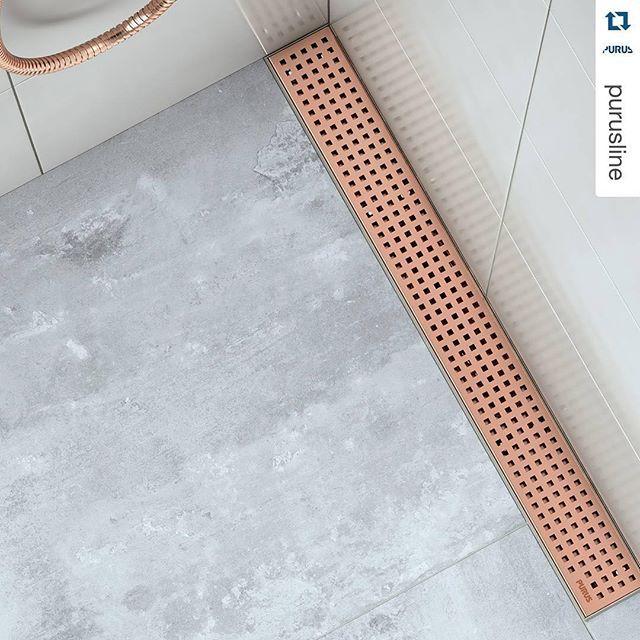 #Repost @purusline Today we launch Rose Gold in Purus Limited Edition designed floor gullies for a more personal choice. #rosegold #limitededition #designinspiration #bathroom #interiordesign #interior #tiles #badrumsdrömmar #badrum #purusline #marmor #marble #archiproducts #shower #dusch #chess #floorgully #golvbrunn #pin