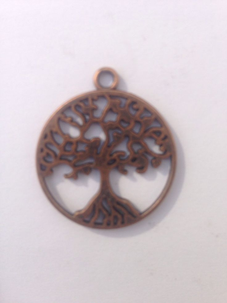 Celtic Tree of Life - Peace Tree Pendant, Copper finish, for jewellery making by FionasHobbyHut on Etsy