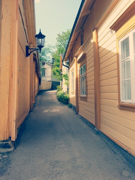 Naantali, The old town,  A Path of Love - Rakkaudenpolku