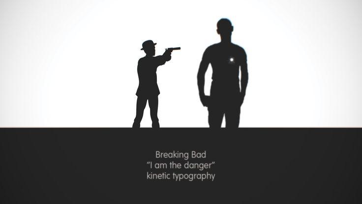 Breaking Bad - I am the danger (kinetic typography)