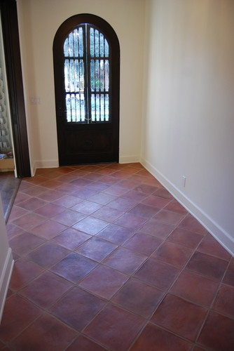 39 best images about terracota floor tiles on pinterest for Spanish revival tile