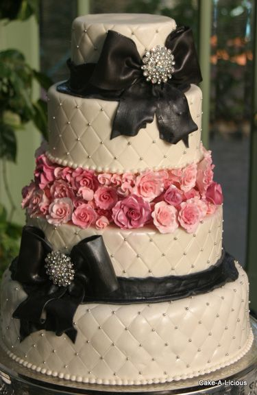 Cakes salt lake wedding cakes cake a licious wedding cakes - Decorating Cakes Like Nobody S Business You May Kiss
