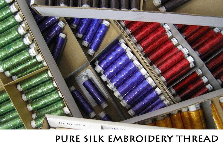 England - Embroidery Thread, Weaving Yarn, Silk, Cotton, Wool