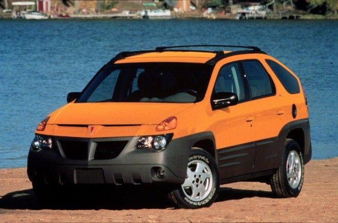 Lelijkste auto's - Pontiac Aztek