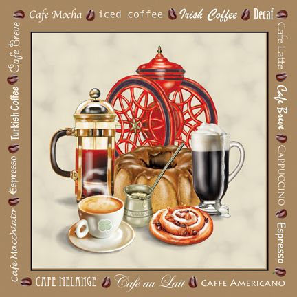 """Café Gold"" by Rosiland Solomon"