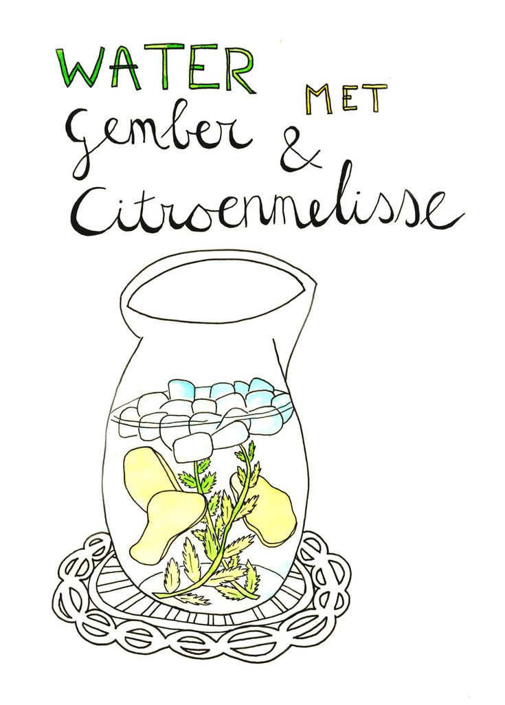 Lekker verfrissend :) Voor workshops illustreren kom je naar Sterrig!