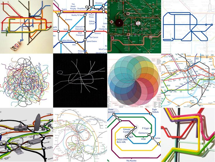london underground map reinterpreted - designboom | architecture