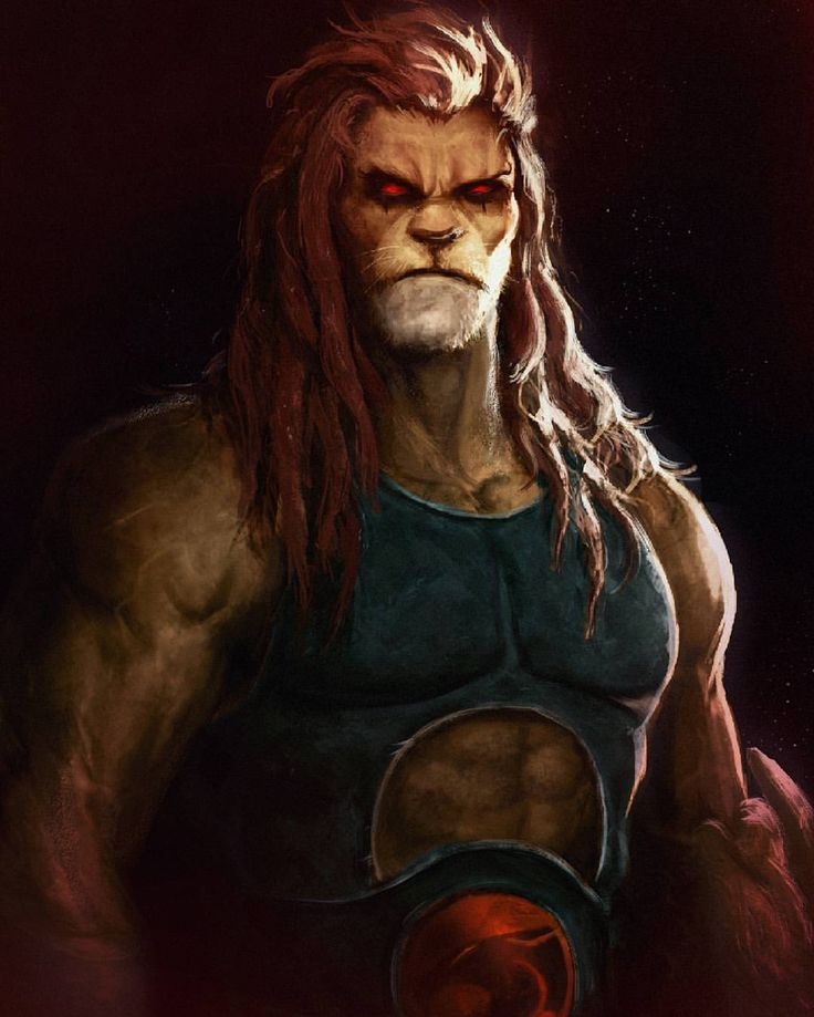 """804 Likes, 23 Comments - Adnan Ali (@addu_art) on Instagram: """"Lion-o, Lord of the Thundercats. Painted in photoshop. #childhood #memories #cartoonnetwork…"""""""