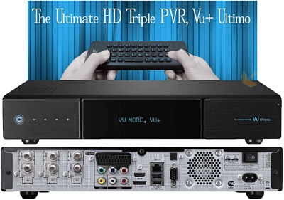 VU+ Ultimo Twin Linux HDTV Sat-Receiver   PVR Ready