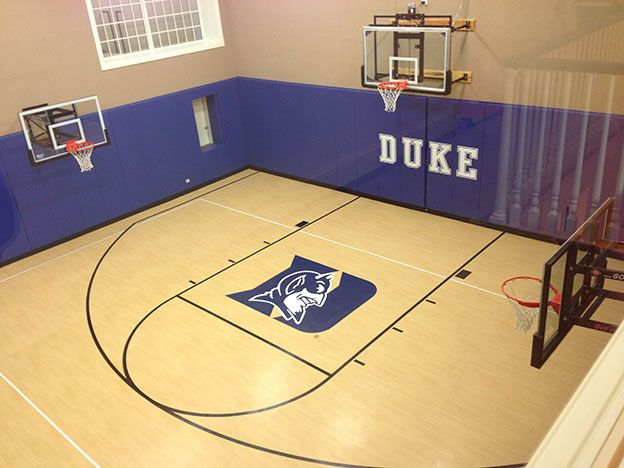 156 best images about indoor basketball court on pinterest for Indoor residential basketball court