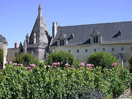Medieval Gardens at l'Abbaye Royale de Fontevraud