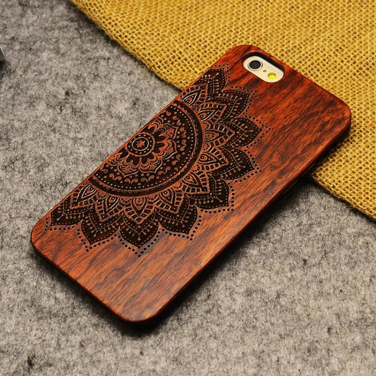2016 hot sale Retro Nature Wood Case for Apple iPhone 5 5S Cover Wooden Cases in Stock