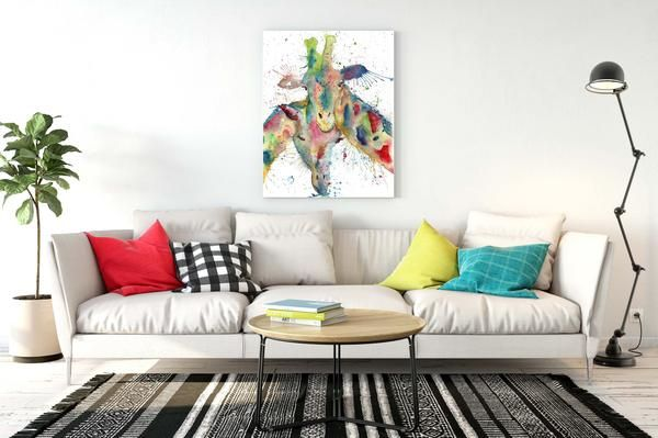 High quality, ready to hang stretched canvas. Printed with advanced eco and scratch-resistant inks for a lasting finish onto a 300gsm cotton rich, satin-matte c
