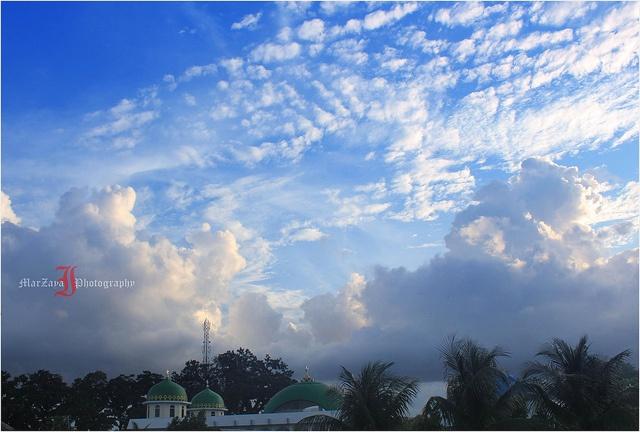 kubah Mesjid Baitul Huda, Kutablang. Kota Lhokseumawe.    Photo by Marzaya Photograph