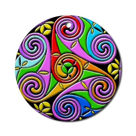 Celtic Spirals in Beautiful Colors