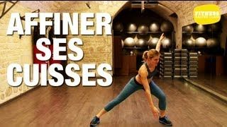 Fitness Master Class - Fitness pour affiner ses cuisses, via YouTube.