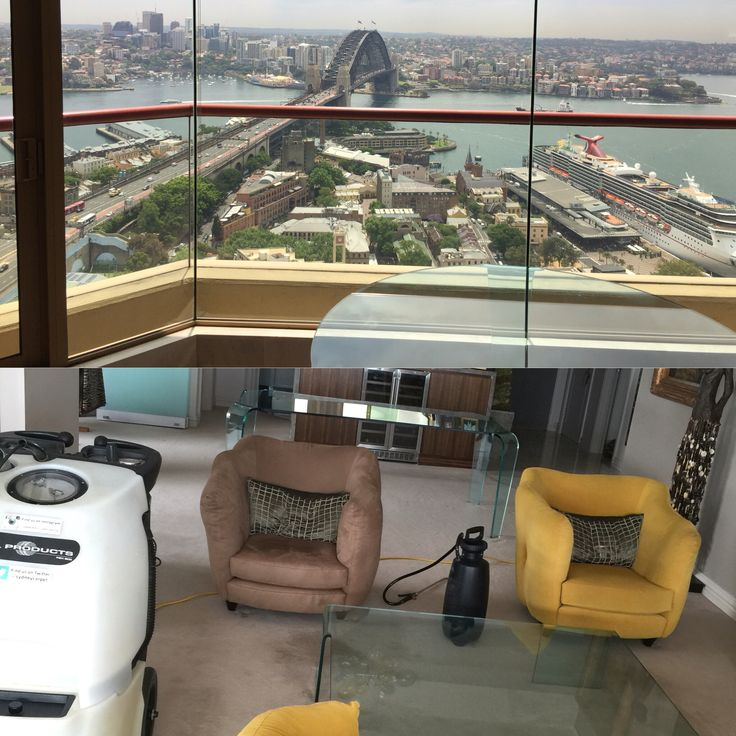 Here is a penthouse i cleaned yesterday  Look at the view  #carpetcleaning #sydney #Upholsterycleaning