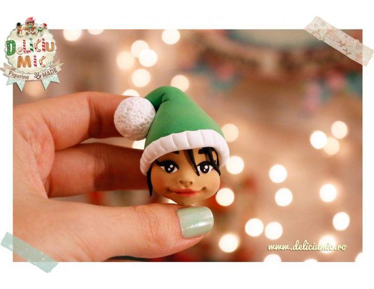 Figurine handmade  Spiridușul Crăciunului