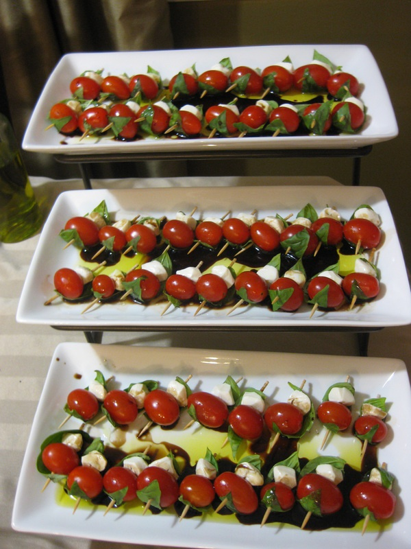 ... Mozzarella Skewers on Pinterest | Tomato Mozzarella, Skewers and