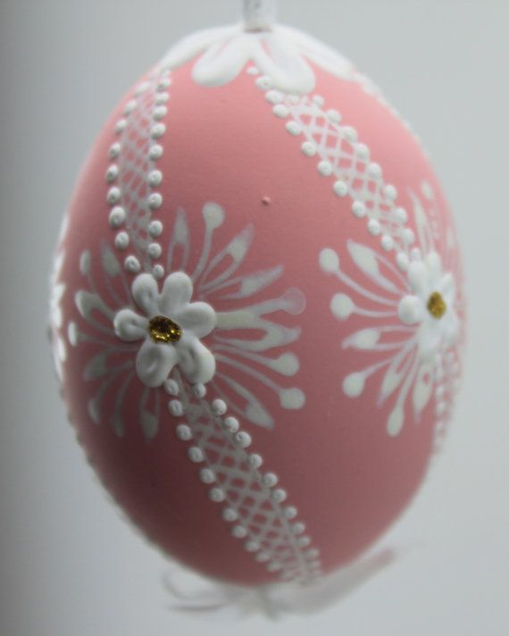 Hand Made Easter Eggs from the Czech Republic by czechegg on Etsy