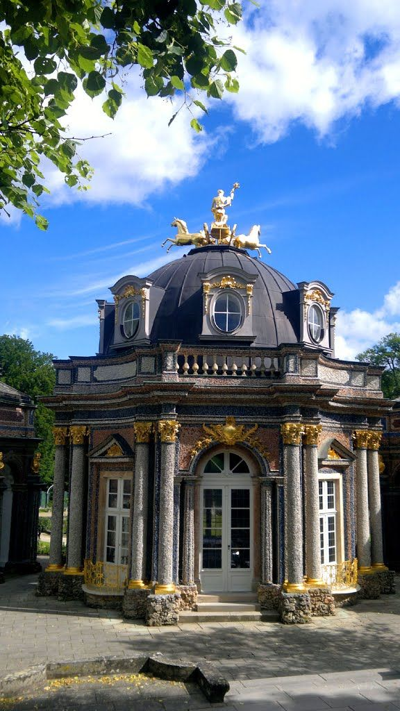 Hermitage Castle - #Bayreuth - #Bayern - Germany by Robby-BF