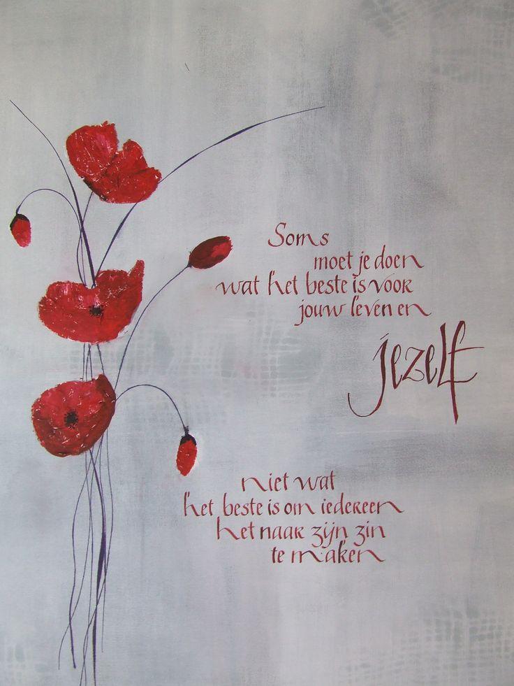 Soms... / mooie woorden / Dutch quotes