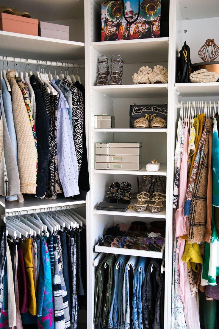 Begehbarer Kleiderschrank / Ikea Pax Offener Kleiderschrank / Walk-In Closet
