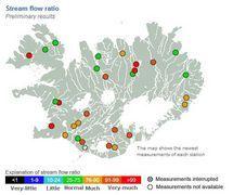 clima: alertas tormentas de arena  y auroras boreales Islandia