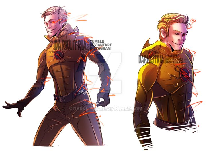 Eobard Thawne by DarkLitria on DeviantArt