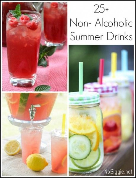 25+ Non- Alcoholic Summer Drinks