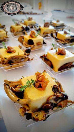 Panna cotta salata alla zucca con salsiccia e porcini - La Cucina del Cuore