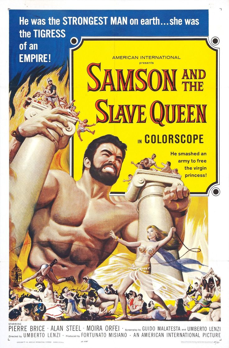 Samson and the Slave Queen (1963) Starring: Pierre Brice, Alan Steele, Moira Orfei