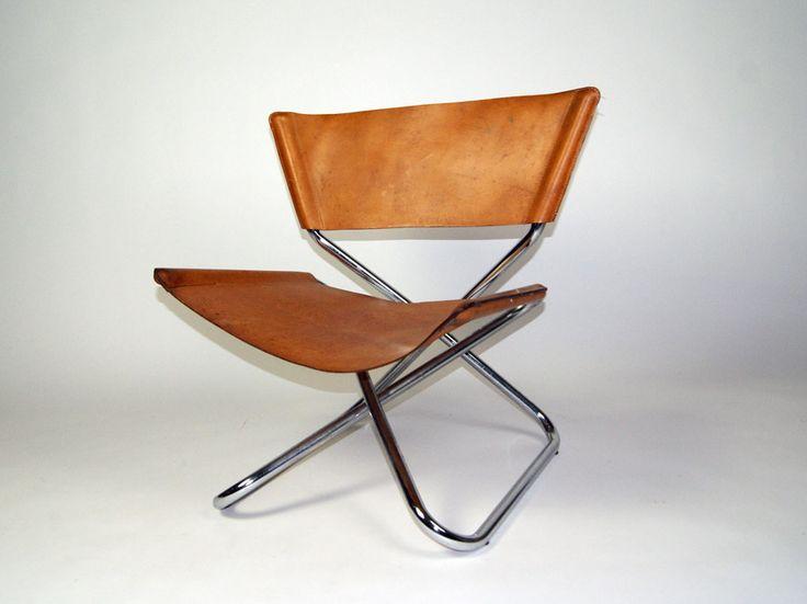 Erik Magnussen. Zdown Chair, Engelbrecht Furniture. 1965.