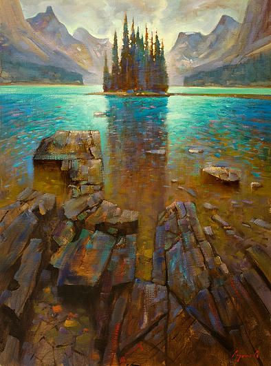A collection of Paintings by Canadian Artist Brent Lynch. Brent 's paintings are available for purchase at the mountain galleries at the fairmont.