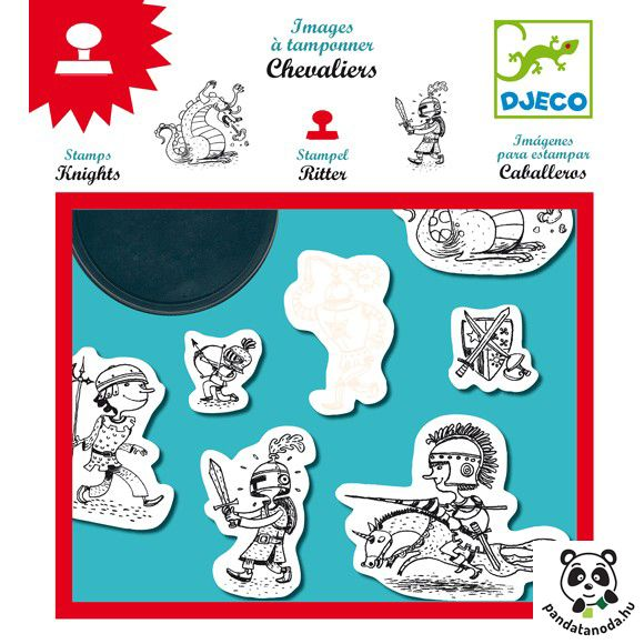 Lovagok nyomda Djeco Knights | Pandatanoda.hu Játék webáruház