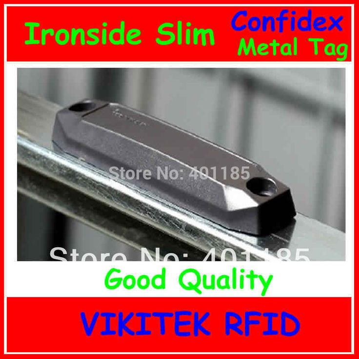 Confidex Ironside slim UHF RFID metal tag 860-940MHZ 915M EPC C1G2 ISO18000-6C for global asset tracking applications