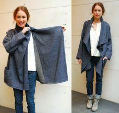 La Porta Magica - Ve a la moda cosiendo tu propia ropa. Blog de costura facil.: DIY Chaqueta