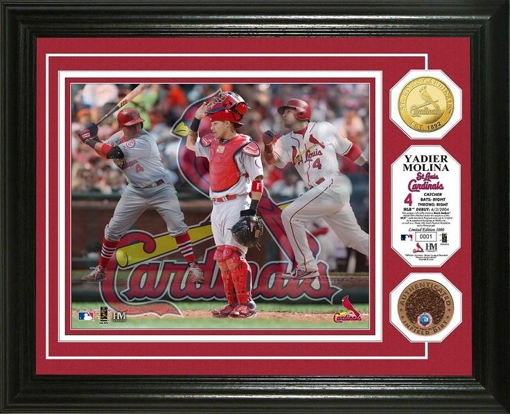 AAA Sports Memorabilia LLC Yadier Molina St. Louis