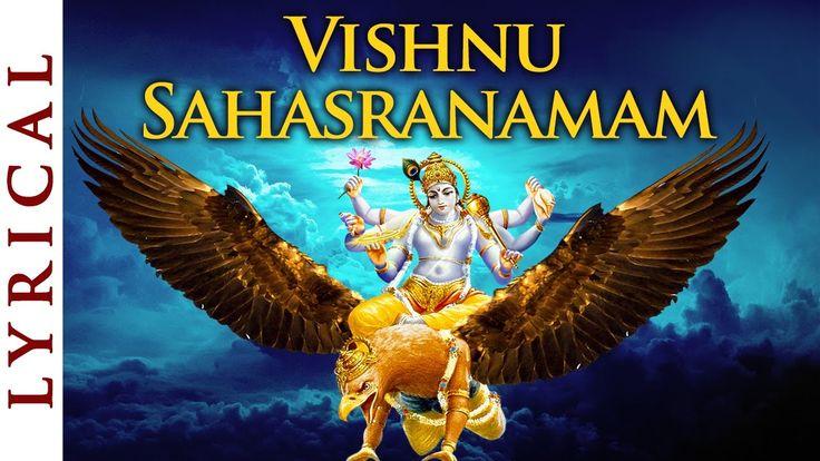 vishnu sahasranamam lyrics in sanskrit pdf