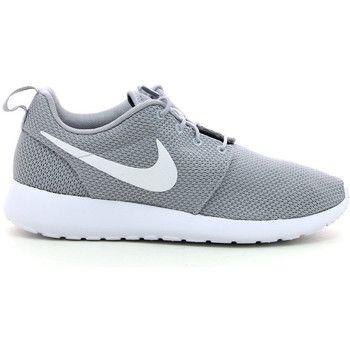 top Nike roshe run heren sneakers (Grijs)
