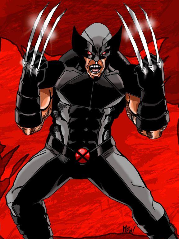 X-force Wolverine by mrfuzzynutz on DeviantArt