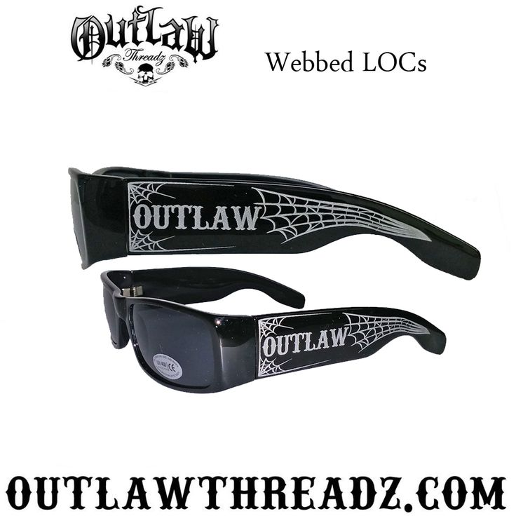 Outlaw Webbed LOCS sunglasses, you can get them here: http://shop.outlawthreadz.com/Outlaw-Webbed-LOCS-Sunglasses-OG03.htm