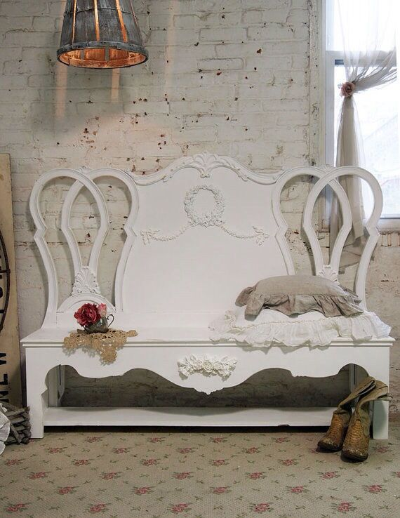 Beautiful Swedish inspired Bench