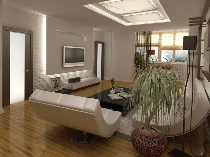 Проект большой гостиной в квартире в г. Реутов, ул. Октября (фото)