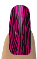PINK & BLACK ZEBRA  Jamberry Nail Shields, Nail Wraps - Buy Jamberry Nails  Awesome! 2 of my favorite things together, the color combination pink & black & zebra print!!!