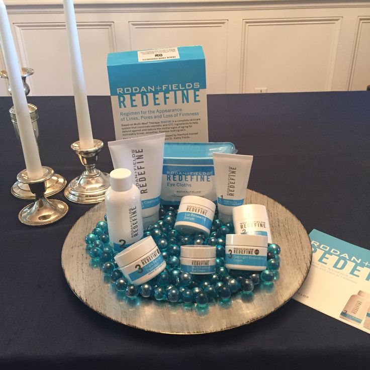 Party display ideas #rodanandfields