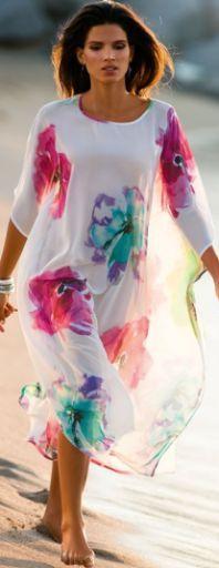 Модные летние платья для полных [фото]. Лето 2016: платья и сарафаны для полных - 120 фото